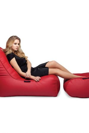 Ambient Lounge Fíorenzé Bean Bag Set - Mode Red