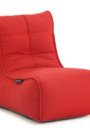 Ambient Lounge Outdoor Evolution Sofa - Crimson Vibe Sunbrella