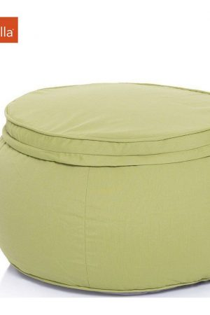 Ambient Lounge Outdoor Poef Wing Ottoman - Limespa