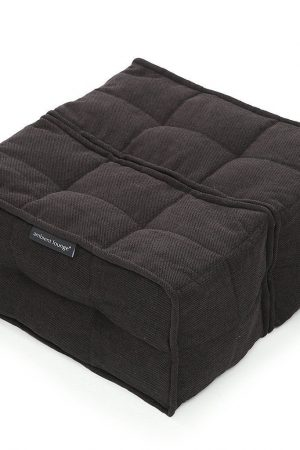 Ambient Lounge Poef Twin Ottoman - Black Sapphire