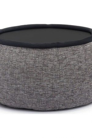 Ambient Lounge Poef Versa Table - Luscious Grey