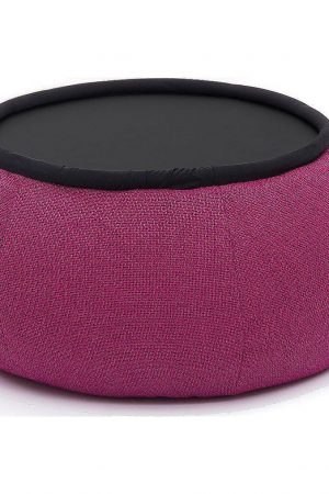 Ambient Lounge Poef Versa Table - Sakura Pink