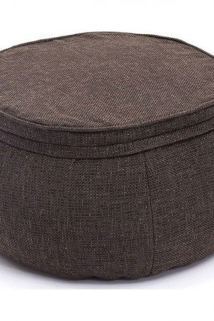 Ambient Lounge Poef Wing Ottoman - Hot Chocolate