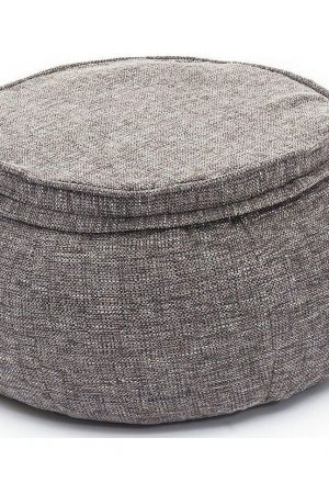 Ambient Lounge Poef Wing Ottoman - Lucious Grey