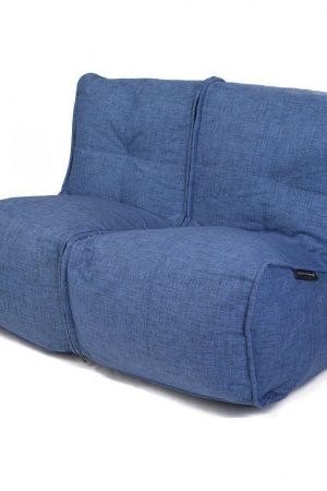 Ambient Lounge Twin Couch - Blue Jazz