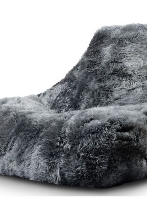 Extreme Lounging B-Bag Mighty-B Indoor Zitzak Sheepskin - Grijs