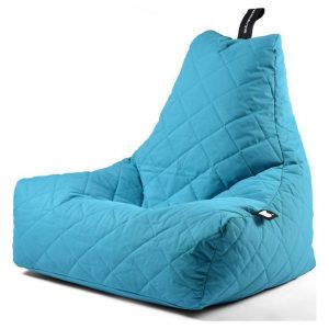 Extreme Lounging B-Bag Mighty-B Zitzak Quilted - Aqua