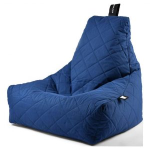 Extreme Lounging B-Bag Mighty-B Zitzak Quilted - Blauw