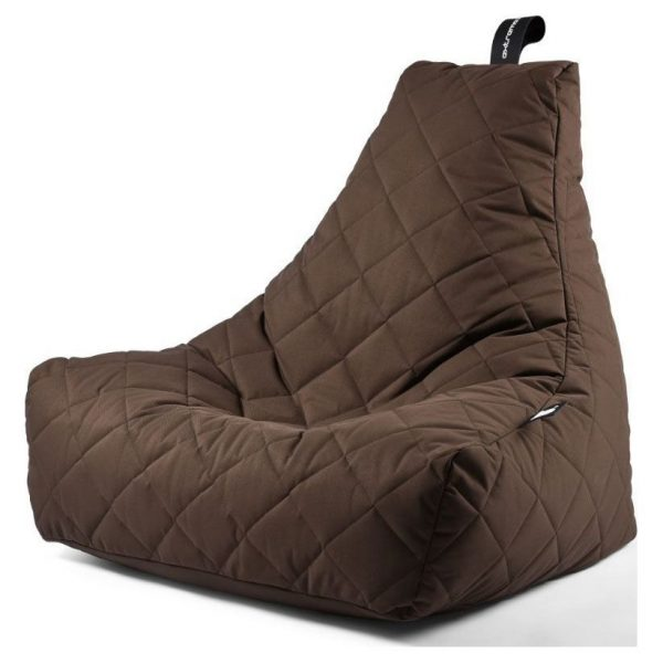 Extreme Lounging B-Bag Mighty-B Zitzak Quilted - Bruin