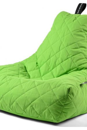 Extreme Lounging B-Bag Mighty-B Zitzak Quilted - Groen