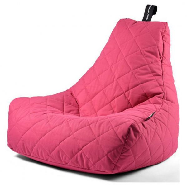 Extreme Lounging B-Bag Mighty-B Zitzak Quilted - Roze
