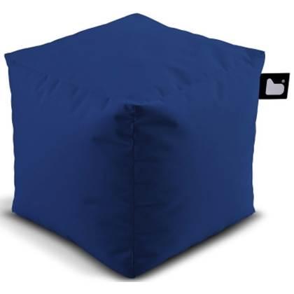 Extreme Lounging Poef B-box Basic Donker Blauw