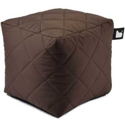 Extreme Lounging Poef B-box Quilted Bruin