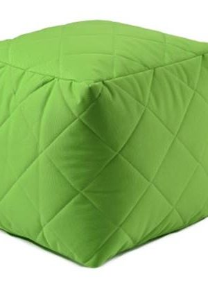 Extreme Lounging Poef B-box Quilted Groen