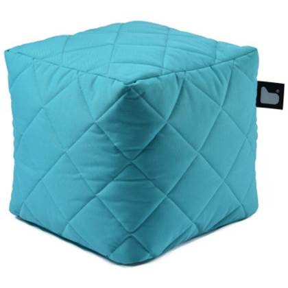 Extreme Lounging Poef B-box Quilted Licht Blauw