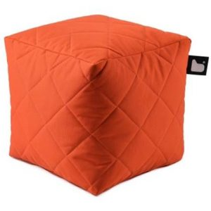 Extreme Lounging Poef B-box Quilted Oranje