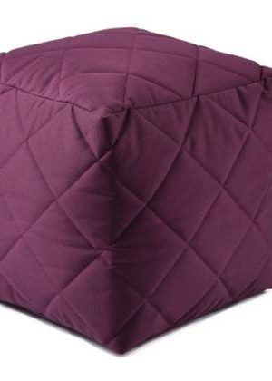 Extreme Lounging Poef B-box Quilted Paars