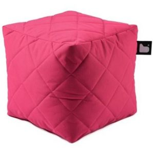 Extreme Lounging Poef B-box Quilted Roze
