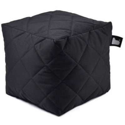 Extreme Lounging Poef B-box Quilted Zwart