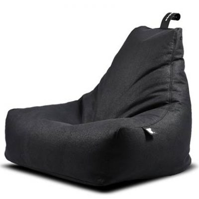 Extreme Lounging Zitzak B-bag Old Age Leather Charcoal