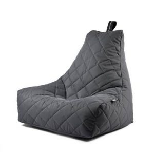 Extreme Lounging Zitzak B-bag Quilted Grijs