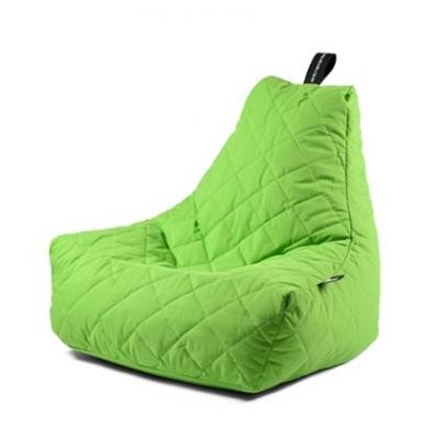 Extreme Lounging Zitzak B-bag Quilted Groen