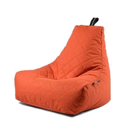 Extreme Lounging Zitzak B-bag Quilted Oranje