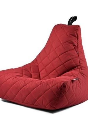 Extreme Lounging Zitzak B-bag Quilted Rood