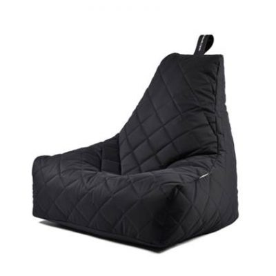 Extreme Lounging Zitzak B-bag Quilted Zwart