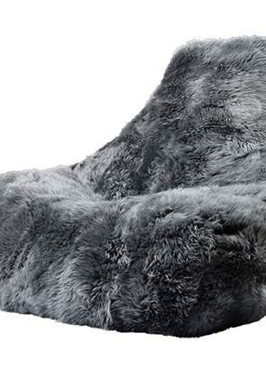 Extreme Lounging Zitzak B-bag Sheepskin Grijs