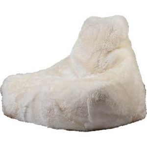 Extreme Lounging Zitzak B-bag Sheepskin Wit
