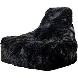 Extreme Lounging Zitzak B-bag Sheepskin Zwart
