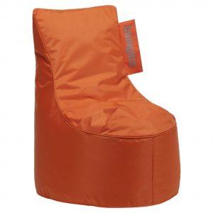 Loungiez Kinder Zitzak Stoel Junior - Oranje