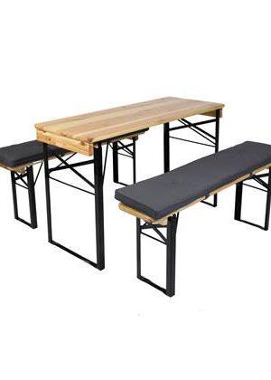 MaximaVida picknicktafel en biertafel kussen Antro 120 x 27