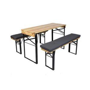 MaximaVida picknicktafel en biertafel kussenpakket Antro 120 x 27