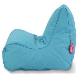 Puffi Kinder Zitzak Stoel Lounge Chair Kids- Aqua