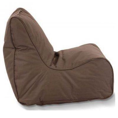 Puffi Kinder Zitzak Stoel Lounge Chair Kids- Grijs