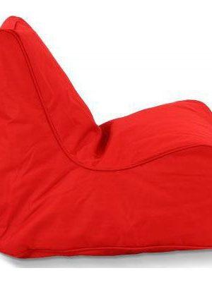 Puffi Kinder Zitzak Stoel Lounge Chair Kids- Rood