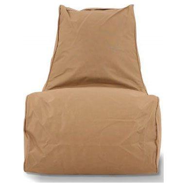 Puffi Kinder Zitzak Stoel Lounge Chair Kids- Taupe