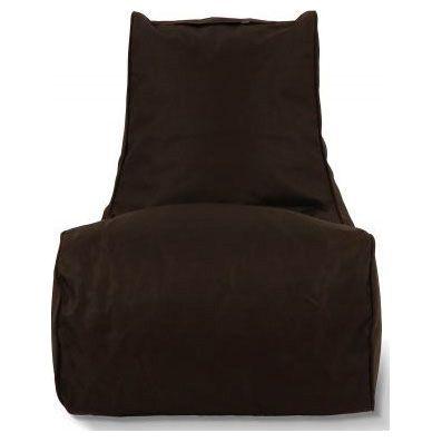 Puffi Kinder Zitzak Stoel Lounge Chair Kids- Zwart