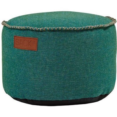 SACKit RETROit Poef Canvas Drum - Petrol