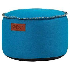 SACKit RETROit Poef Canvas Drum - Turquoise