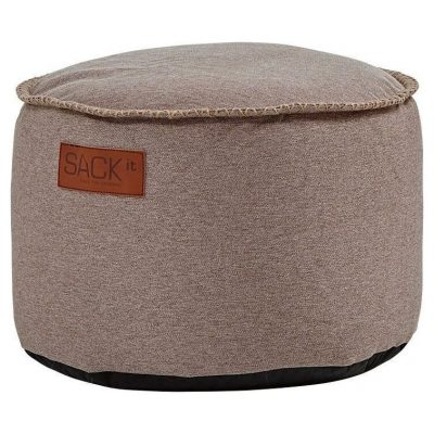SACKit RETROit Poef Canvas Drum - Zand