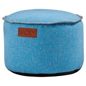 Sackit RETROit Poef Cobana Drum - Turquoise
