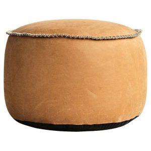 Sackit RETROit Poef Dunes Drum - Cognac