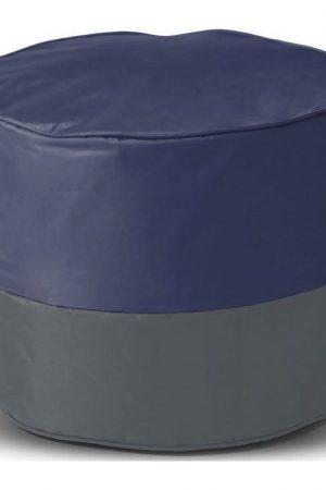 Sit&joy Kinder Poef Rondo - Marineblauw