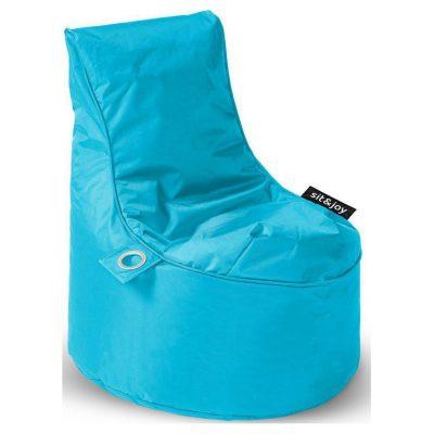 Sit&joy  Kinder Zitzak Stoel Bumba - Aquablauw