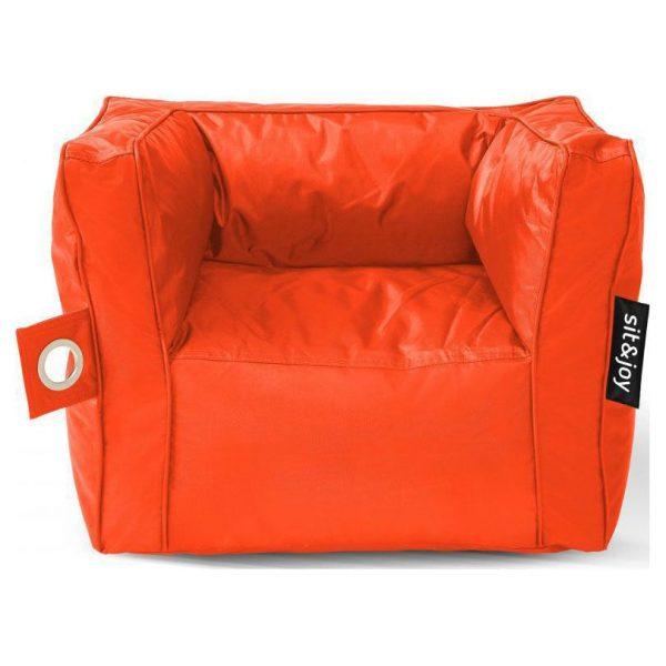 Sit&joy  Kinder Zitzak Stoel Primo - Oranje