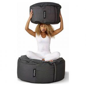 Sit&joy Poef Capri XL - Antraciet
