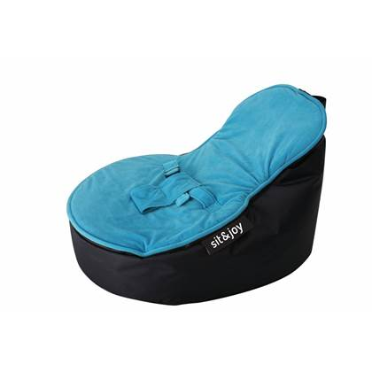 sit&joy® Dinga Aquablauw Zitzak